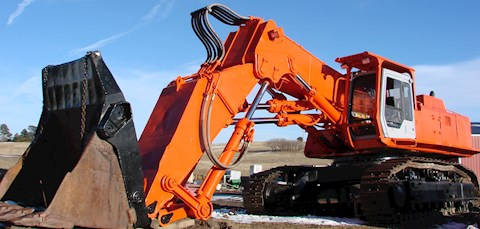 Hitachi EX700 - Hitachi Excavators