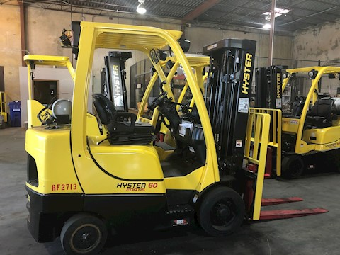 2020 Hyster 6,000lbs Cushion Tire Forklift - Hyster Forklifts