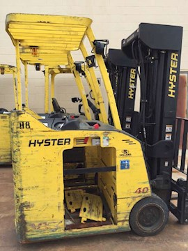2011 Hyster E40HSD2 - Hyster Forklifts