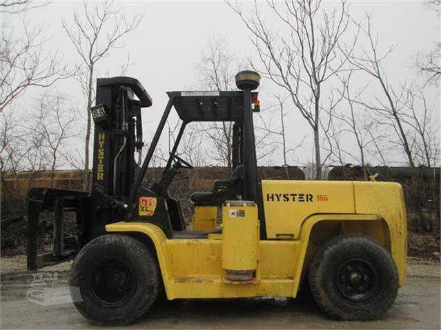 2004 Hyster H155XL2 - Hyster Forklifts