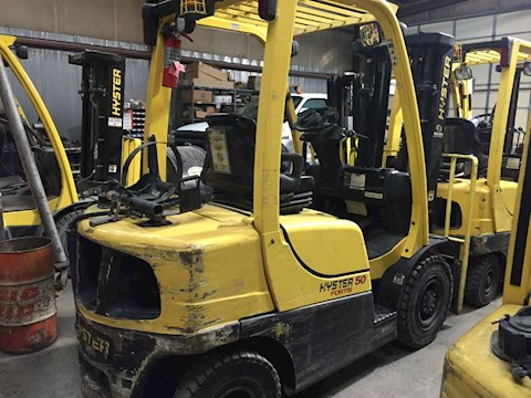 2012 Hyster H50FT Fortis® Advance - Hyster Forklifts