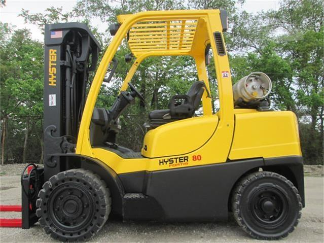 2012 Hyster H80FT - Hyster Forklifts