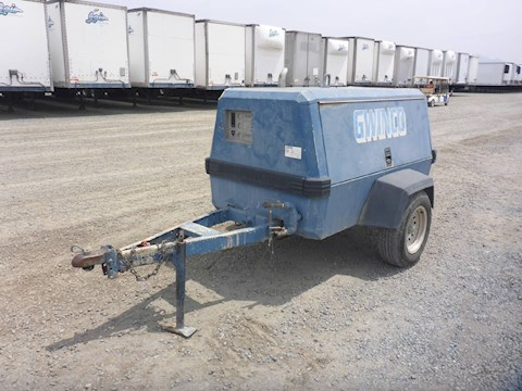 1997 Ingersoll-Rand P185WJD Portable Air Compressor (2593) - Ingersoll-Rand Air Compressors