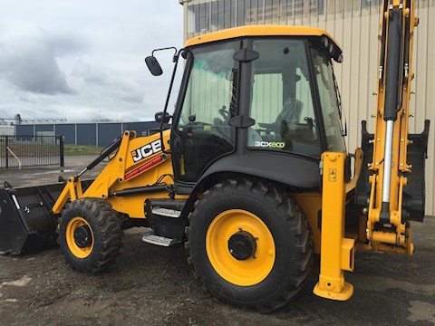 JCB 2017 JCB 3CX SITEMASTER BACKHOE - JCB Loader Backhoes