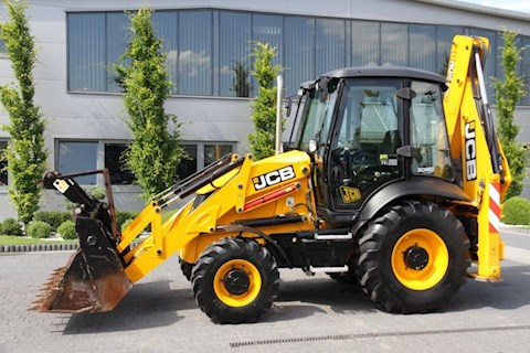 JCB JCB BACKHOE LOADER 3CX TURBO 4x4 like NEW 1500 MTH! - JCB Loader Backhoes