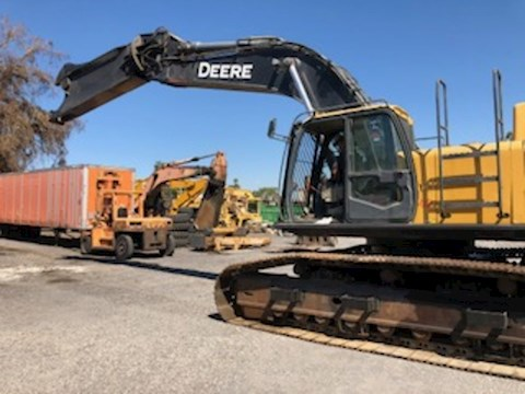 John Deere 450D LC with Labounty 100R Shear - John Deere Excavators
