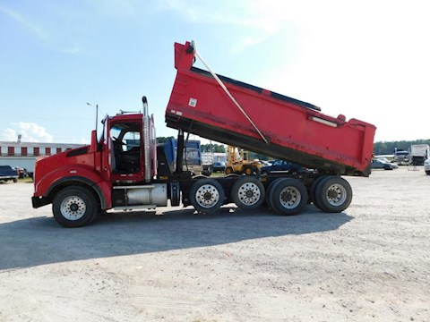 2015 Kenworth T880 Quad Axle Dump Truck - Kenworth Dump Trucks