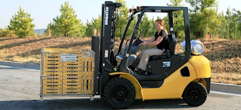 Komatsu Forklifts at Machinery Marketplace