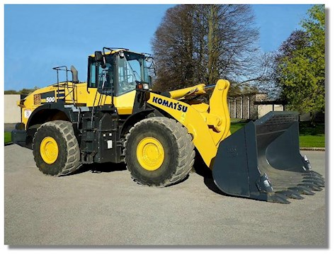 Komatsu Loaders at Machinery Marketplace