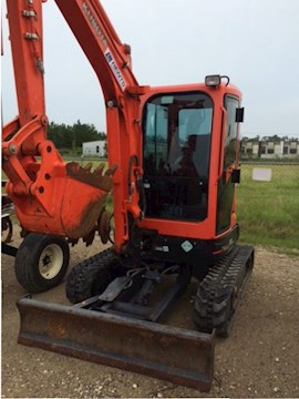 2013 Kubota U32-R2AS2 - Kubota Excavators