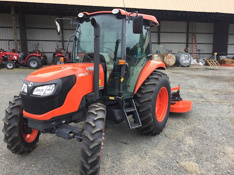 Kubota M6060 with Land Pride Finish Mowe - Kubota Tractors