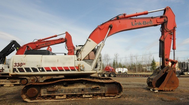 Link-Belt Excavators at Machinery Marketplace