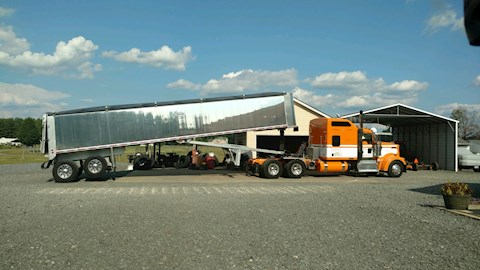 Mac MAC Frameless End Dump - Mac Dump Trailers