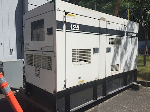 2012 MQ Power / Wisperwatt DCA125 SSJU4i - MQ Power / Wisperwatt Generators