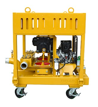 Myers Seth Pumps DD-4S Barge - Myers Seth Pumps Pumps
