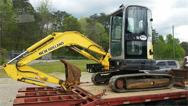 New Holland E35SR - New Holland Excavators