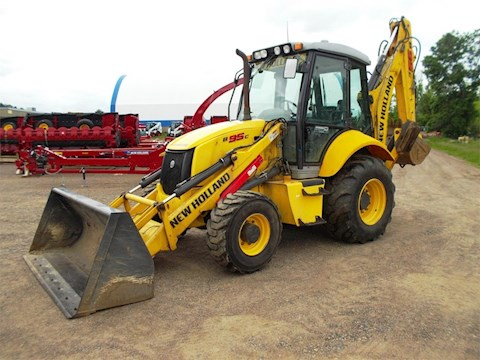 2013 New Holland B95C - New Holland Loader Backhoes