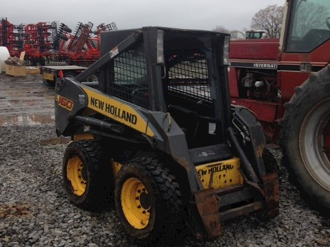New Holland L160 - New Holland Loaders