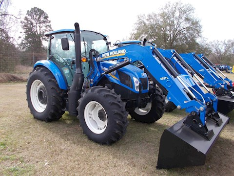 New Holland T4 Series - Tier 4B T4.110 - New Holland Tractors