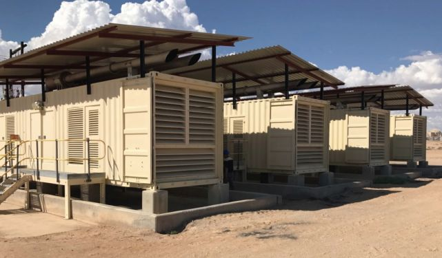 Other Perkins Containerized Diesel Generator Plant 9600 KW - Other Generators