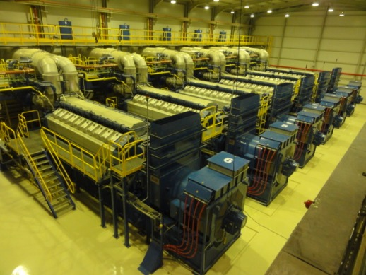 Other Wartsila Natural Gas Generator Power Plant 60 MW - Other Generators