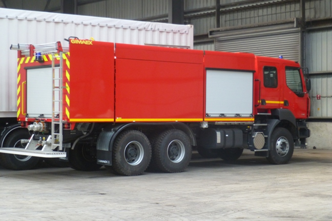 Other RENAULT 6x4 Fire Truck New Surplus - Other Tunnel & Mining