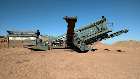 Powerscreen 1800 Triple Deck - Powerscreen Aggregate Equipment