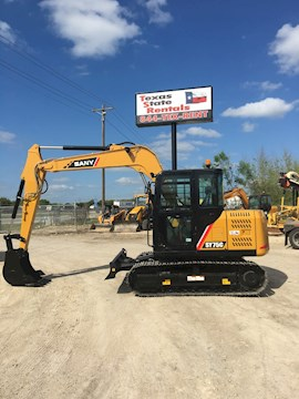 Sany Excavators at Machinery Marketplace