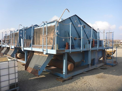 2003 Schauenbrg 1640IIB2 5x12 Screener Deck (2667) - Schauenbrg Aggregate Equipment