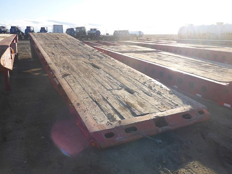 1979 SCONA 40T Oilfield Float Trailer 2698 - SCONA Trailers