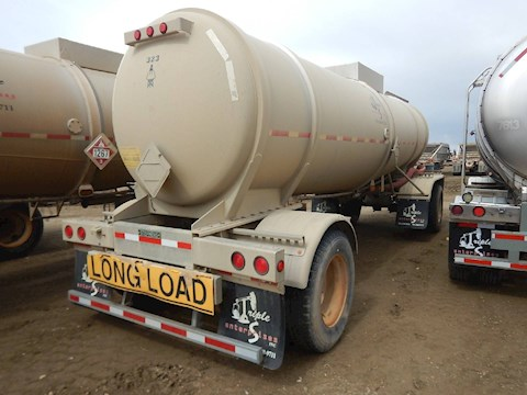 2010 Stephens 5000 Gallon 2 Axle Pup Tank Trailer (2564) - Stephens Trailers