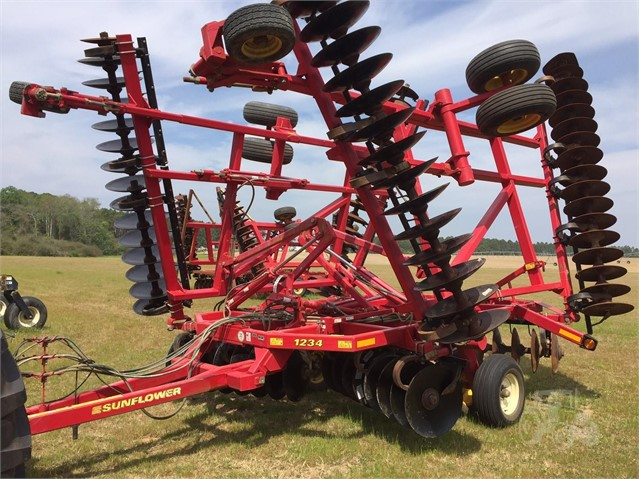 2012 Sunflower 1234-32 - Sunflower Disc, Tine & Tillage