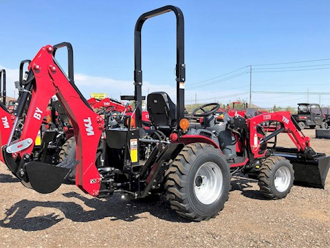 2020 TYM T25XLH-TLB 25HP 4x4 Tractor Loader Backhoe - TYM Tractors