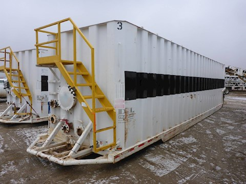 2006 VE ENTERPRISES 500 Barrel Frac Tank 2701 - VE ENTERPRISES Trailers