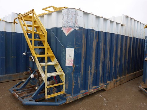 2005 VE ENTERPRISES 500 Barrel Frac Tank 2705 - VE ENTERPRISES Trailers