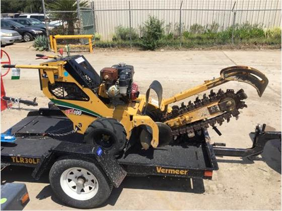 Vermeer RTX100 - Vermeer Other Construction Equipment