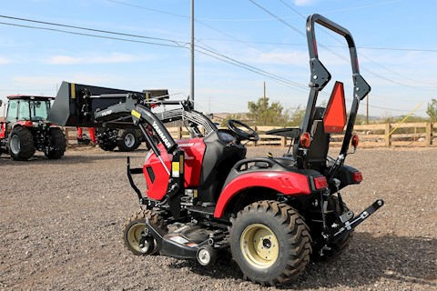 Yanmar SA221H LandPro Tractor Loader with Mower Deck and UPGRADES - Yanmar Tractors