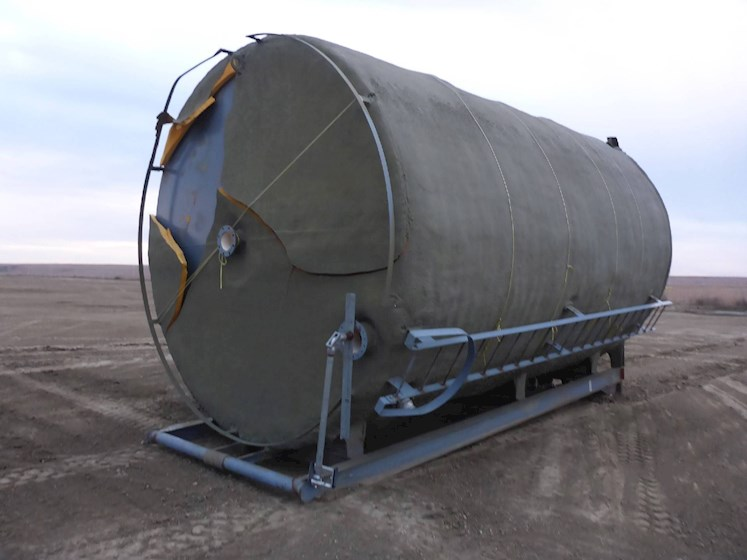 2012 MWI 20K Gallon Skid Mounted Tank 2711 - MWI Other Construction Equipment