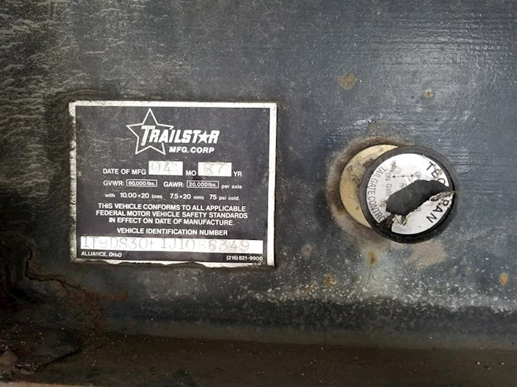 1988 Other Trailstar 30' - Other Dump Trailers