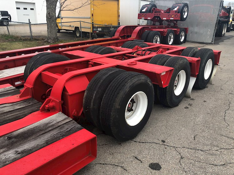 Talbert 35 Ton Trailer - 2 axles with a flip 3rd - Refurbished - Talbert Trailers