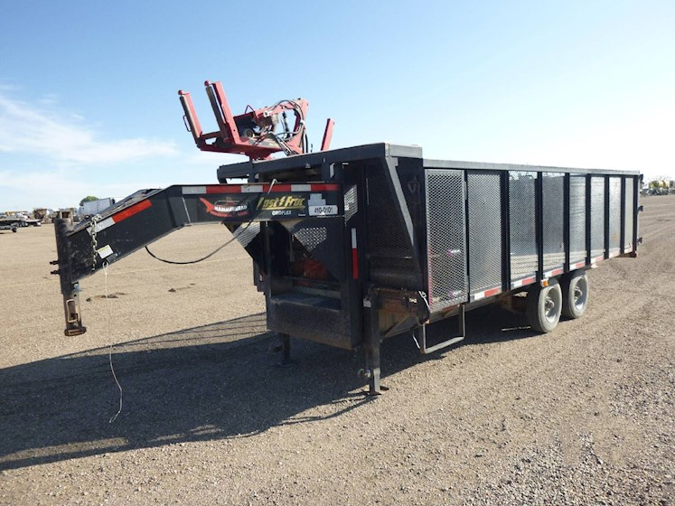 2014 Texas Pride 20ft Gooseneck Flatdeck Trailer 2661 - Texas Pride Trailers