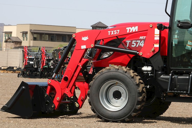2020 TYM T57HSTC TURBO Cab Tractor Loader 55HP 4x4 HYSTAT - TYM Tractors
