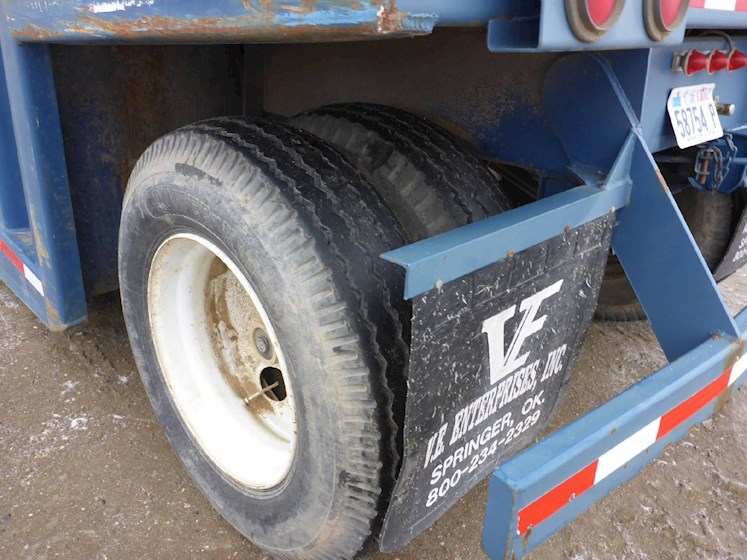 2006 VE ENTERPRISES 500 Barrel Frac Tank 2703 - VE ENTERPRISES Trailers
