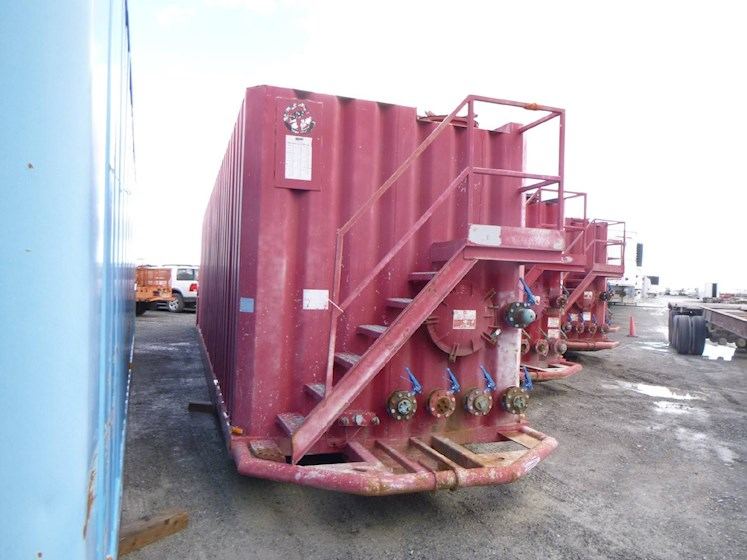 2001 WICHITA 500 Barrel Frac Tank 2741 - WICHITA Trailers