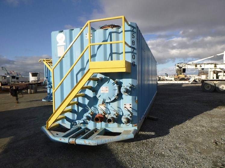 2002 WICHITA 500 Barrel Frac Tank 2742 - WICHITA Trailers