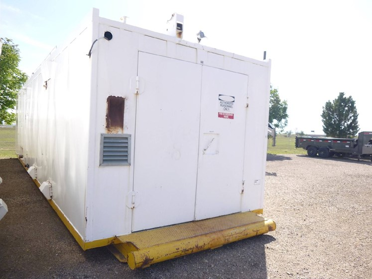 Williams & Davis 777 Enclosed Skid Mounted Boiler - Size 125 Boiler (2654) - Williams & Davis Trailers