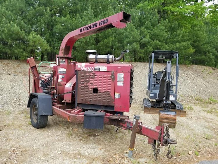 2005 Wood Hyroller 1200 - Wood Other Construction Equipment