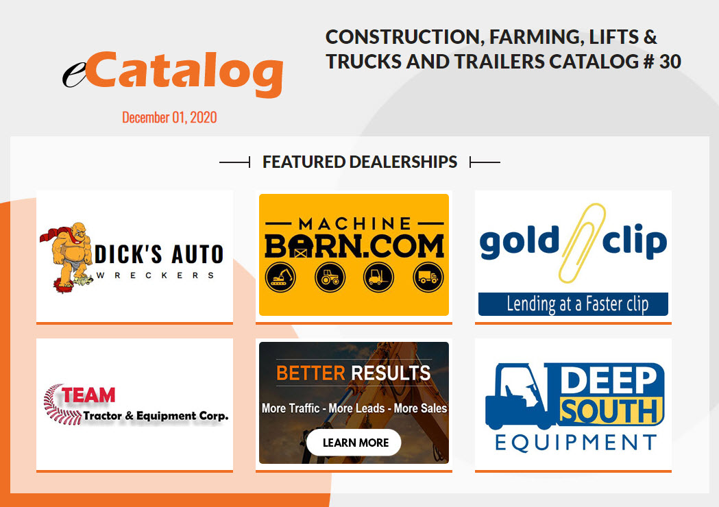 Machinery Marketplace eCatalog # 30